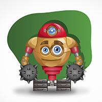 Персонаж 2D: Робот