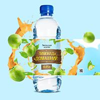Дизайн упаковки: Лимонад Домашний