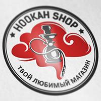 Логотип: магазин кальянов HOOKAH SHOP