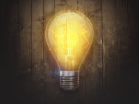 Icon - Лампочка (+набор иллюстраций)