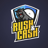 Логотип для игровой команды CS:GO: RUSH&CASH