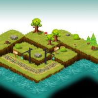 Дизайн ландшафта игры