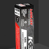 Дизайн упаковки: MOLOT (патроны строительные)