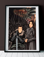 Портрет в стиле Vector: Game of Thrones
