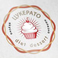 Логотип+меню(буклет)торты и десерты на заказ