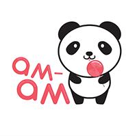 Лого для компании, которая продает сладости am-am