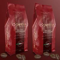 Дизайн упаковки кофе: KONFESSA