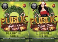 Флаер: Nightclub PUBLIC