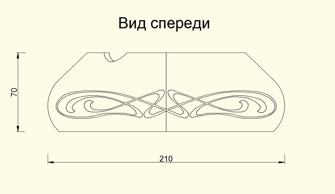 Дизайн пепельницы для сигар (не сигарет) фото f_141583ce806dba3f.jpg