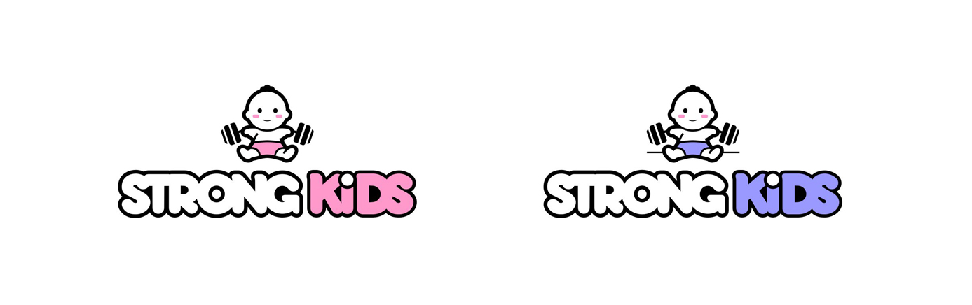 Логотип для Детского Интернет Магазина StrongKids фото f_2145c76a175e46d0.jpg
