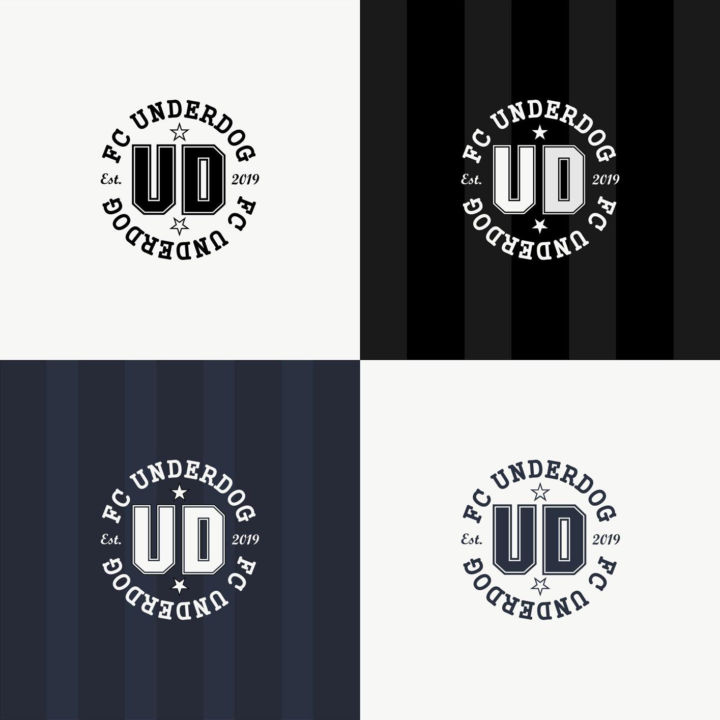 Футбольный клуб UNDERDOG - разработать фирстиль и бренд-бук фото f_4745cb4505d05e71.jpg