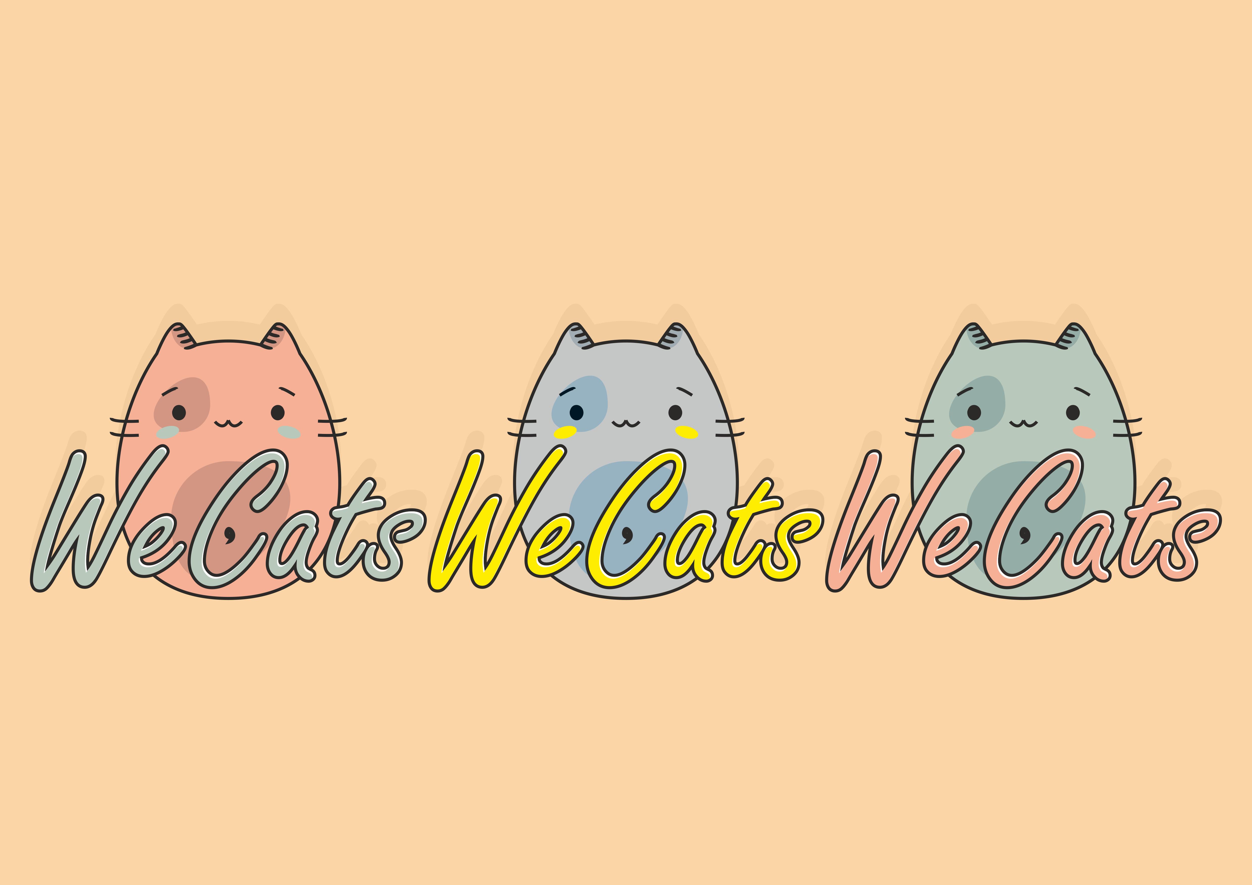 Создание логотипа WeCats фото f_0135f1a1d0e78b7a.png