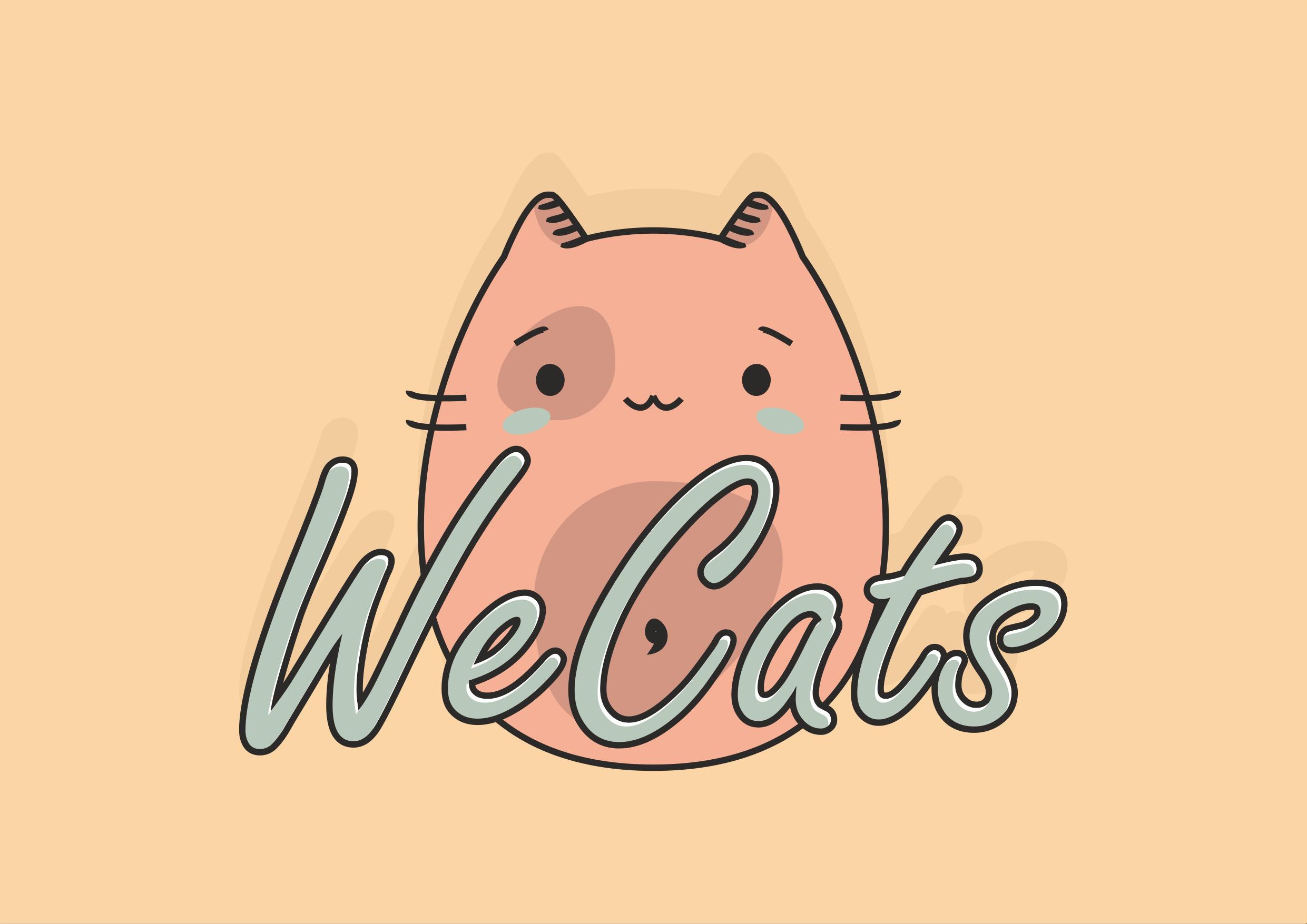 Создание логотипа WeCats фото f_3265f1a1cfe70312.png