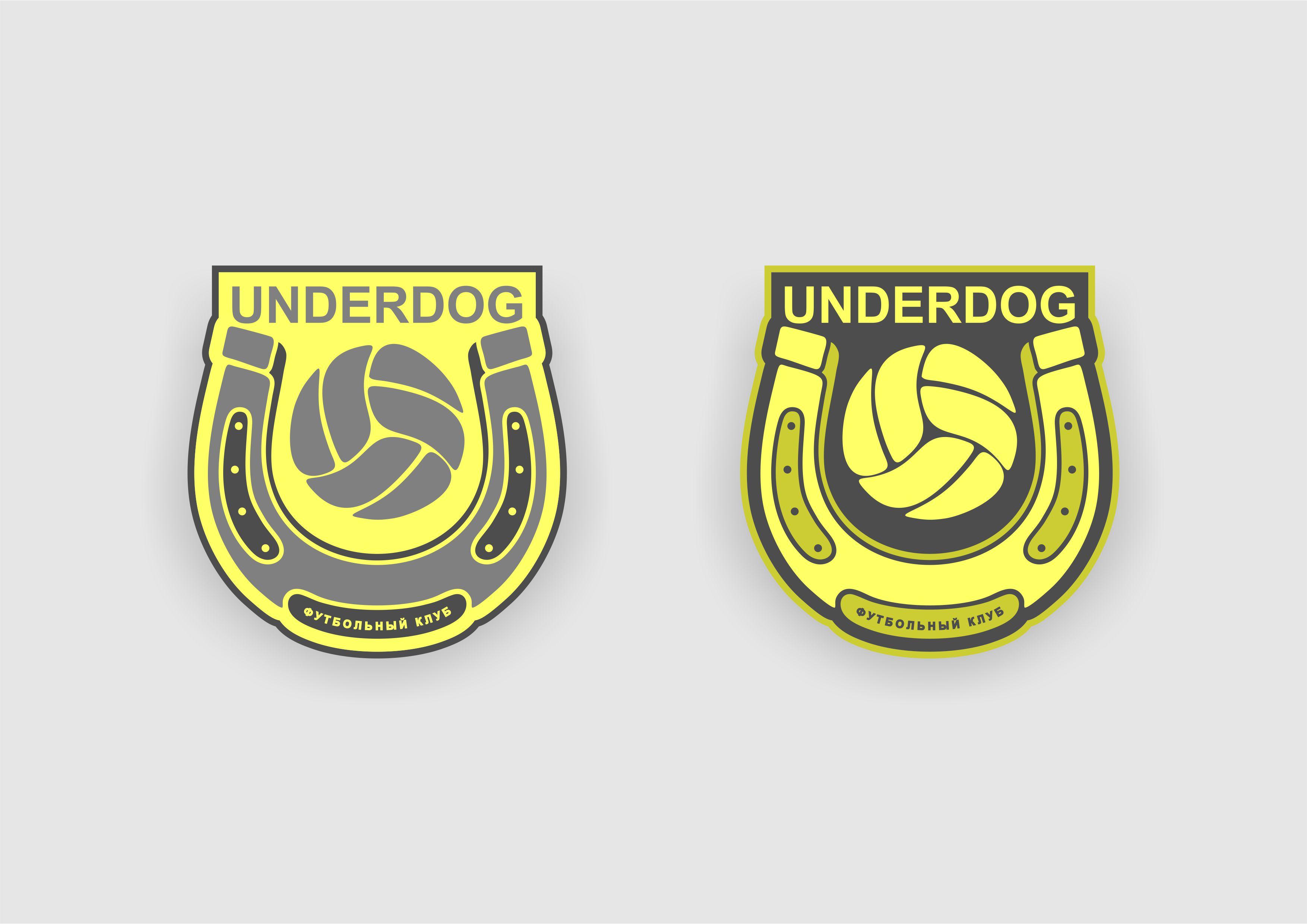 Футбольный клуб UNDERDOG - разработать фирстиль и бренд-бук фото f_8455cb0e84a930de.jpg