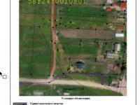 Составление схемы расположения земельного участка на кадастровом плане...