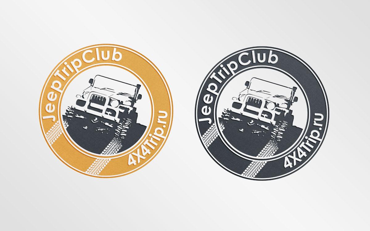 Создать или переработать логотип для Jeep Trip Club фото f_4415429bde37d3ec.jpg