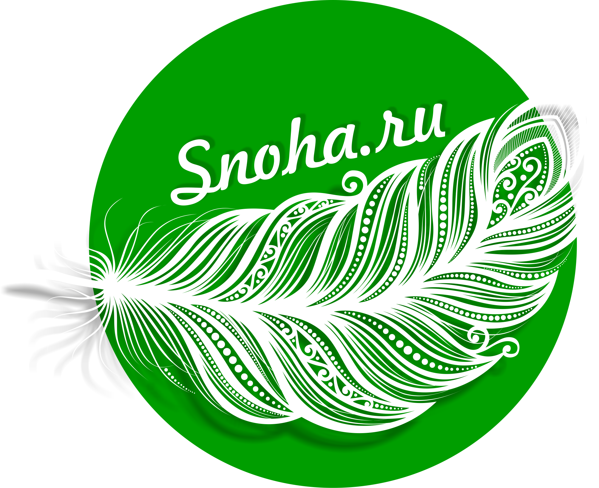 Логотип клининговой компании, сайт snoha.ru фото f_40354a96f2e90031.png