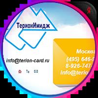 Продвижение сайта www.terion-card.ru