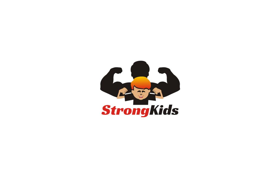 Логотип для Детского Интернет Магазина StrongKids фото f_1945c631fcb32f1c.jpg