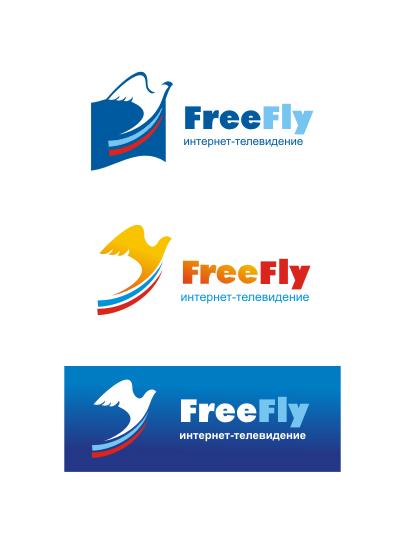 Логотип для общественного интернет-телевидения FreeFly фото f_4fa4740247a87.jpg