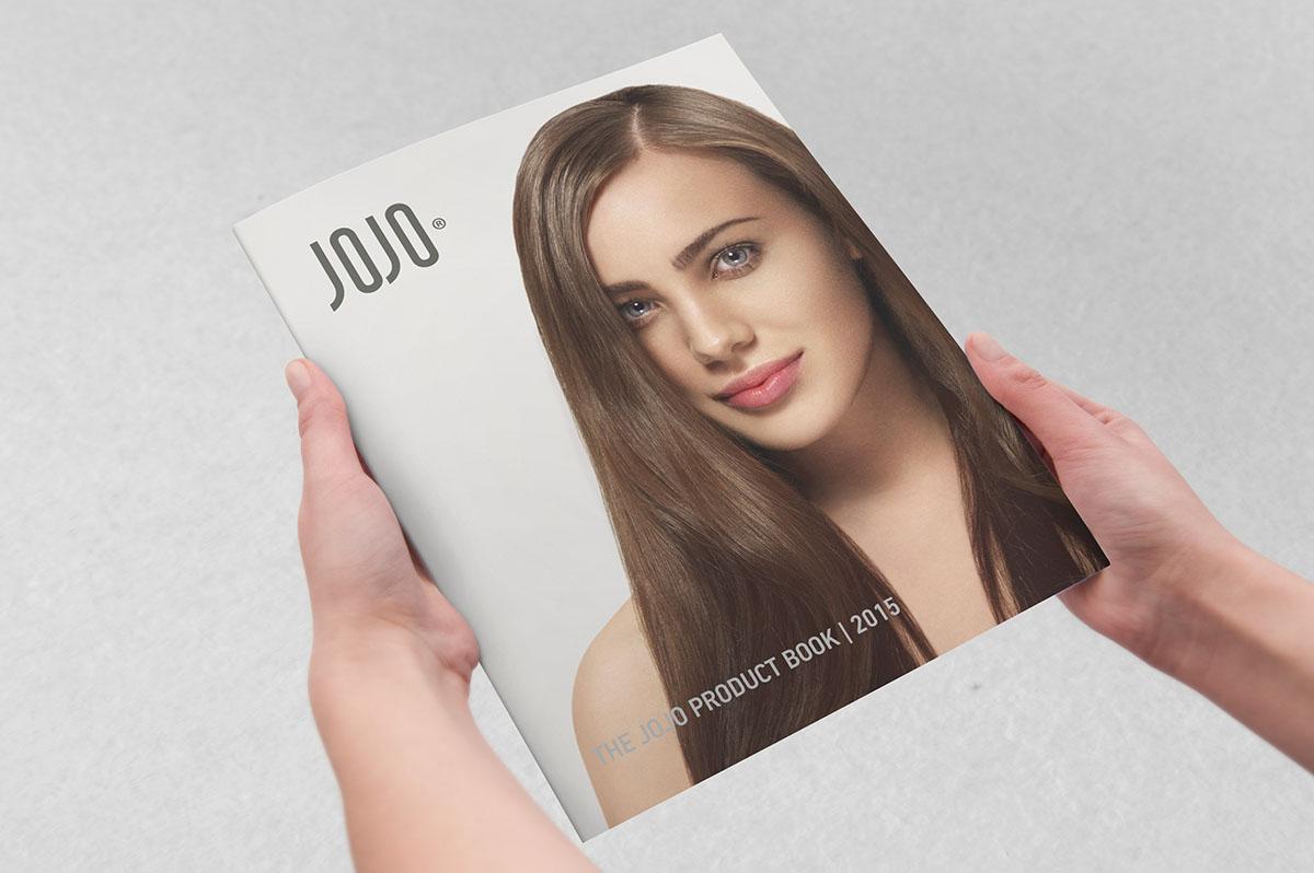 Верстка каталога продукции для JOJO
