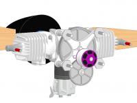 Разработка стартера для авиамодельного двигателя GP76