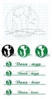 Работа над логотипом турфимы.