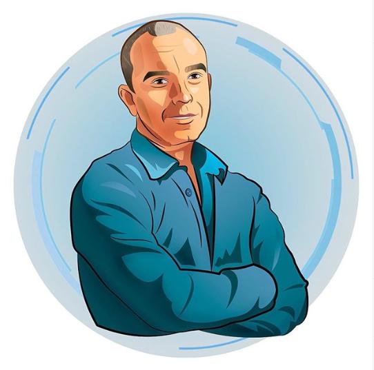 Стилизованный портрет для аватаров в соцсетях и мессенджерах