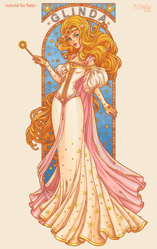 Glinda- the Good Witch of the South
