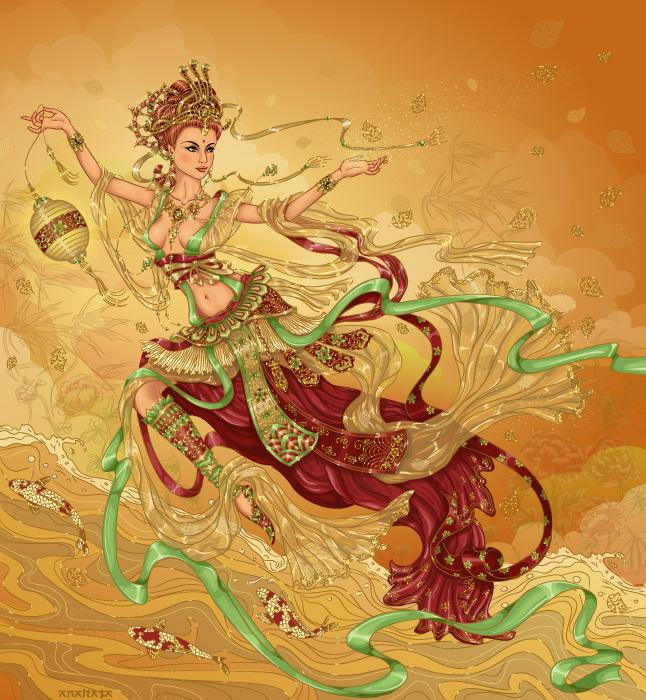 Богиня осени