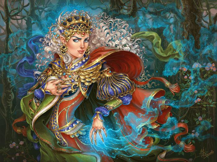 Эльфийская колдунья