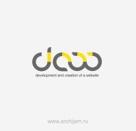 Эскиз логотипа для web-студии