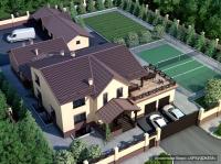 Проект загородного жилого дома