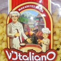 V'Italiano, логотип и упаковка для линейки макаронных изделий. Логотип - финалист конкурса Золотая блоха 2015