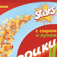 Старс - сухарики, линейка продукта