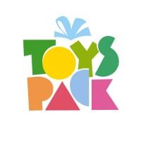 TOYS PACK. Торговая компания (игрушки и подарки). Название и логотип.