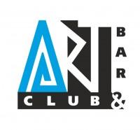 Логотип арт клуба в стиле модерн.