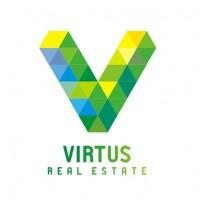 Virtus. Агентство недвижимости. Логотип.
