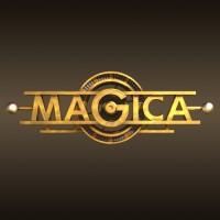 Магика. Игра в стиле «электропанк» (ретрофутуризм). Логотип, 3D. Финалист конкурса Золотая блоха 2017