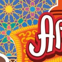Арам-Ням-Ням. Сеть кафе турецкой кухни. Логотип и вывеска.