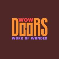 WowDoors. Компания - производитель дверей. Логотип и фирмстиль. Финалист Золотая блоха 2017