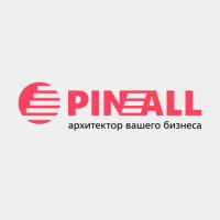 Pin All. Компания по поддержке бизнеса. Логотип.