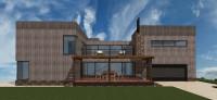 Проект дома (модерн)