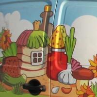Карпов Дворъ, логотип, фирмстиль и оклейка транспорта. Логотип - финалист конкурса CATALOGO 2011