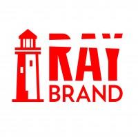 Рэй бренд. Рекламно-маркетинговая компания. Название, логотип, фирмстиль. Финалист конкурса Золотая блоха 2019