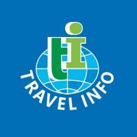 Travel Info. Туристическая компания. Логотип.