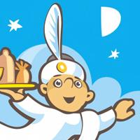 Jinngo, Джиннго, название и логотип для службы доставки обедов в офисы
