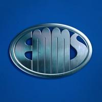 EMMS. Интернет-проект. Логотип в ретроавтомобильном стиле.