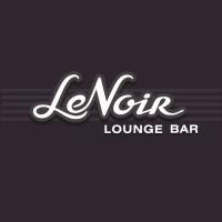Нуар (фр, Le Noir). Бар-ресторан с живой музыкой. Имя, лого и вывеска.