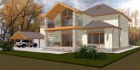 Проект дома (кантри)